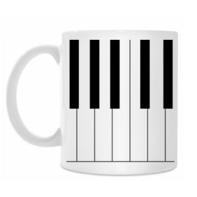 Кружка Клавиши
