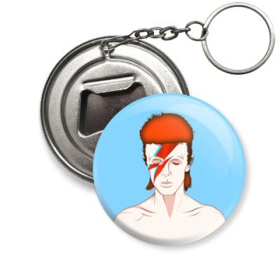Брелок-открывашка David Bowie