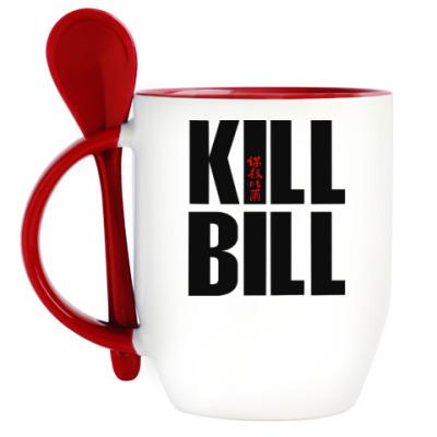 Кружка с ложкой Kill Bill