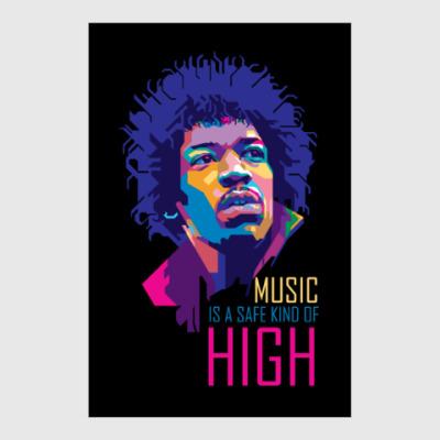 Постер Jimi Hendrix