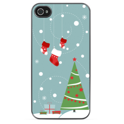 Чехол для iPhone Merry Christmas