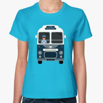 Женская футболка Royal Blue Coach