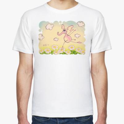 Футболка Розовый слоник