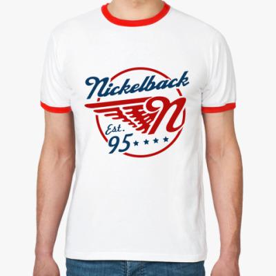 Футболка Ringer-T Nickelback