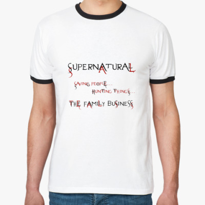 Футболка Ringer-T Supernatural