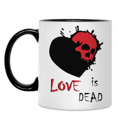 Кружка Love is dead