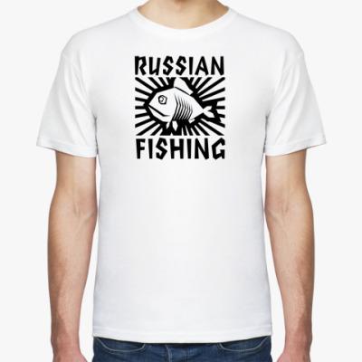 Футболка рыбалка