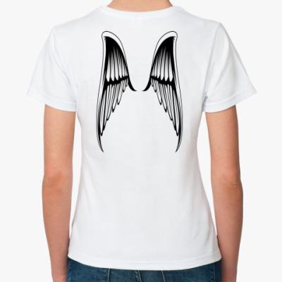 Классическая футболка  99% angel