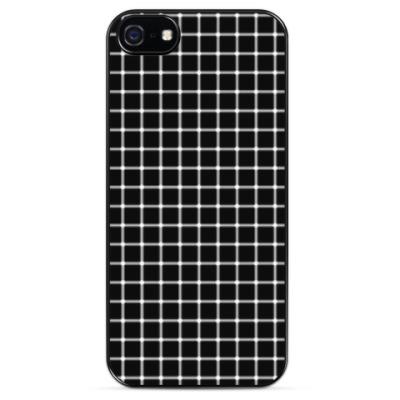 Чехол для iPhone Мнимые черные точки