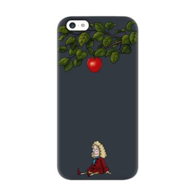 Чехол для iPhone 5c Sir Isaac Newton
