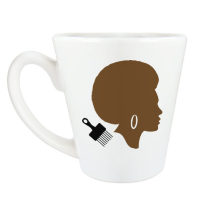 Чашка Латте Afro Lady