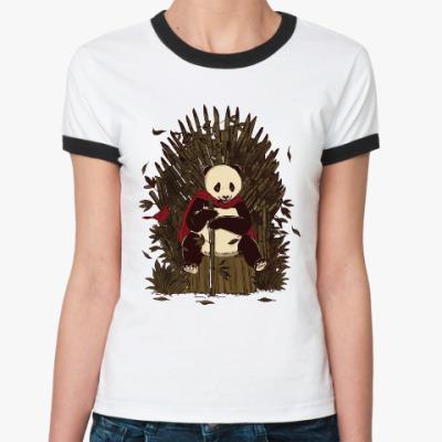 Женская футболка Ringer-T Игра жизни