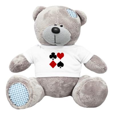 Плюшевый мишка Тедди Азартный Мишка