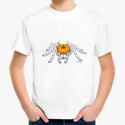 Детская футболка Тыква-паук