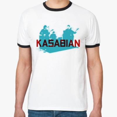Футболка Ringer-T Kasabian