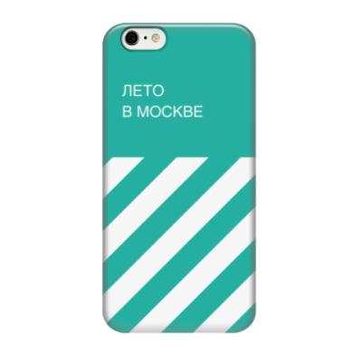 Чехол для iPhone 6/6s Лето в Москве, чехол для iPhone 6 (3D)
