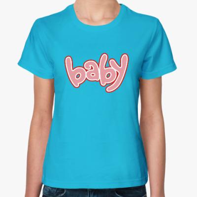 Женская футболка Baby