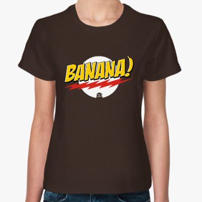 Женская футболка Banana