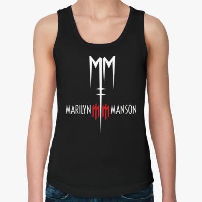 Женская майка Marilyn Manson