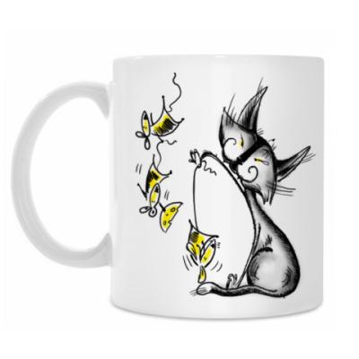 Кружка Кошки-мышки