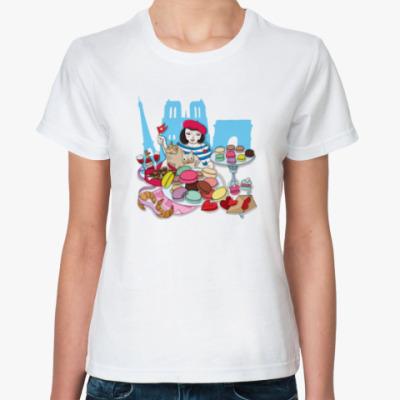 Классическая футболка  'Франция'