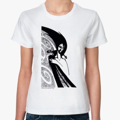 Классическая футболка Вьюга