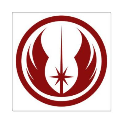 Наклейка (стикер) Jedi order