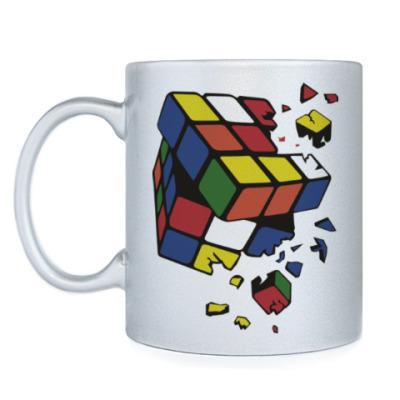 Кружка Сломанный кубик Рубика