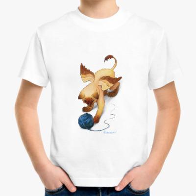 Детская футболка Котенок гриффона
