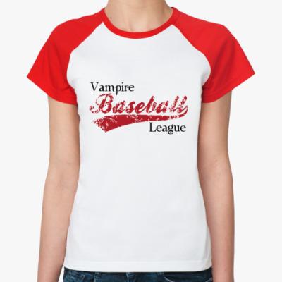 Женская футболка реглан Vampire league