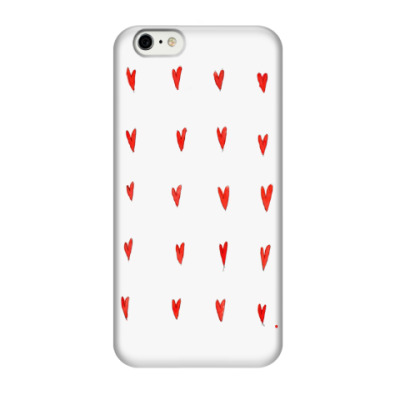 Чехол для iPhone 6/6s Shape of my heart