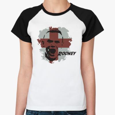 Женская футболка реглан Руни