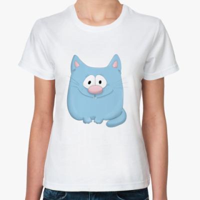 Классическая футболка Любопытный Феня