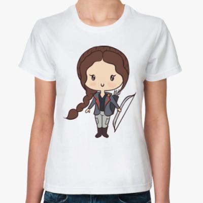 Классическая футболка Голодные Игры
