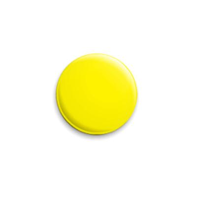 Значок 25мм «Yellow»