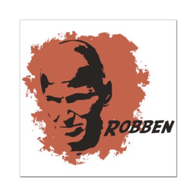 Наклейка (стикер) Роббен