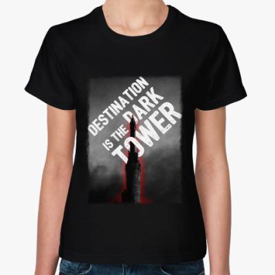 Женская футболка Темная Башня