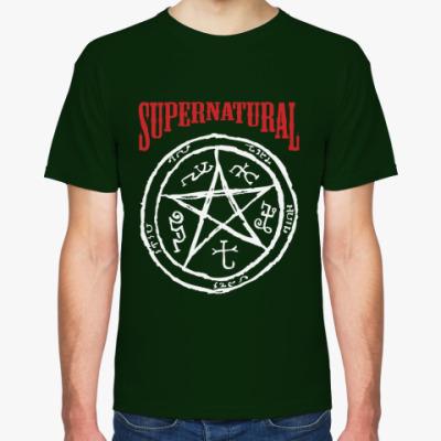 Футболка Devil's Trap - Supernatural