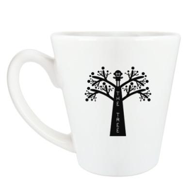 Чашка Латте Человекодерево