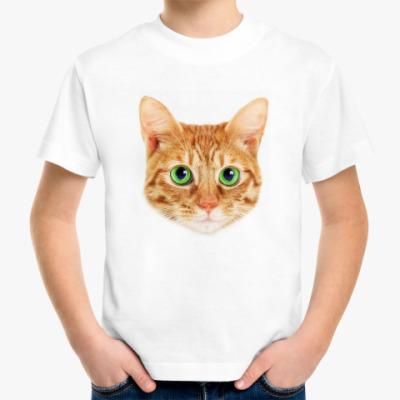 Детская футболка  детская Red Cat