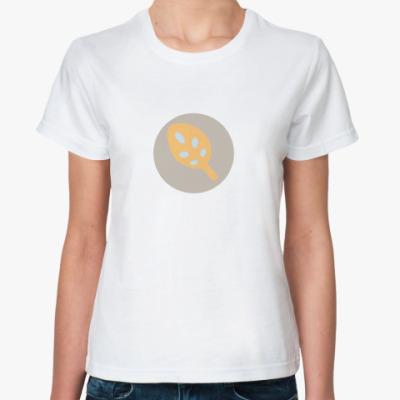 Классическая футболка Листок