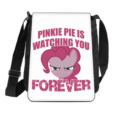 Сумка-планшет Пинки Пай наблюдает за тобой