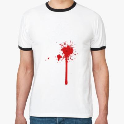 Футболка Ringer-T Blood Splash