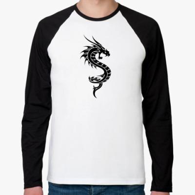Футболка реглан с длинным рукавом Dragon