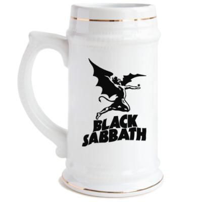 Пивная кружка Black Sabbath