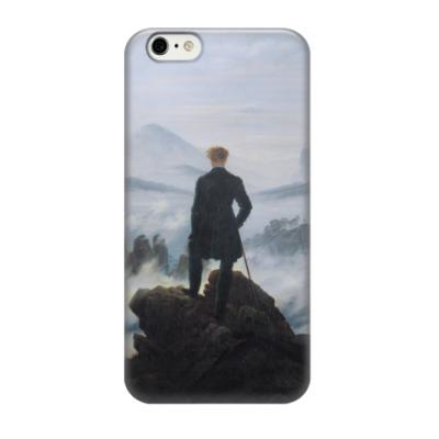 Чехол для iPhone 6/6s К. Фридрих. Странник над морем тумана (Романтизм)