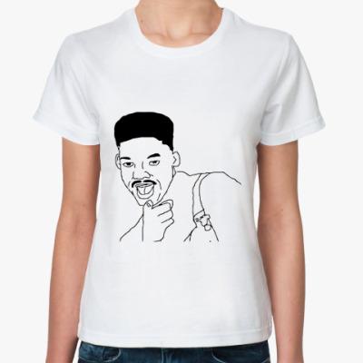 Классическая футболка Уилл Смит