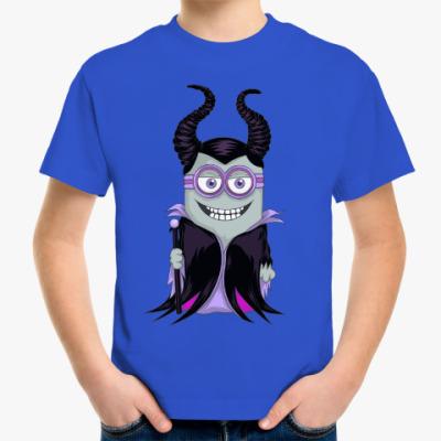 Детская футболка Миньон Малефисента