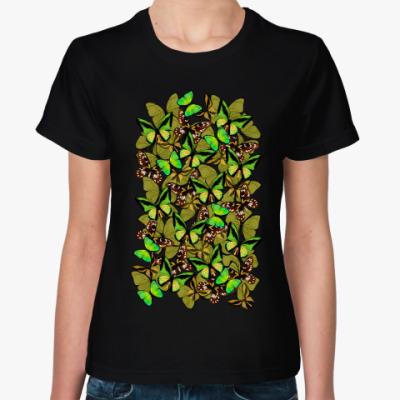 Женская футболка Papilionidae