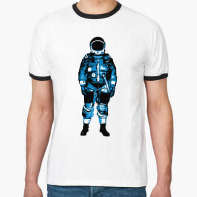 Футболка Ringer-T   Космонавт